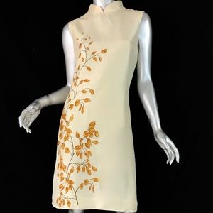 VTG AUTHENTIC OSCAR DE LA RENTA GEISHA STYLE DRESS